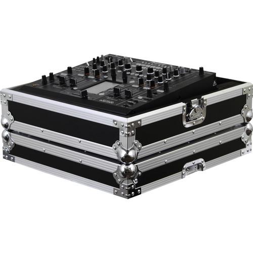 Odyssey Innovative Designs FZDJM2000 Flight Zone Pioneer DJM-2000 DJ Mixer Case (Black/Chrome)