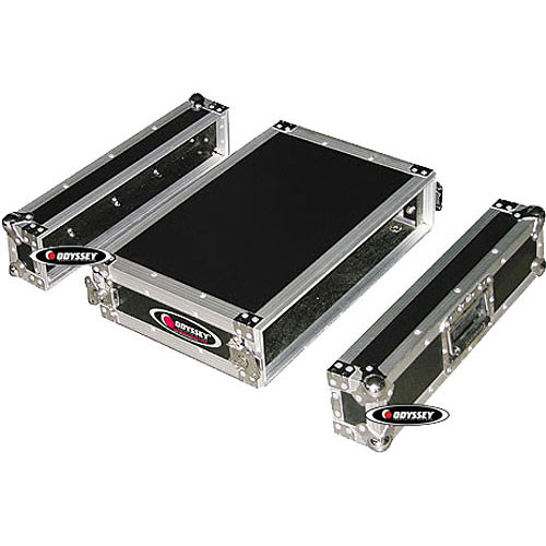 Odyssey Innovative Designs FZER2 Flight Zone Shallow Two Space Special Effects Rack Case