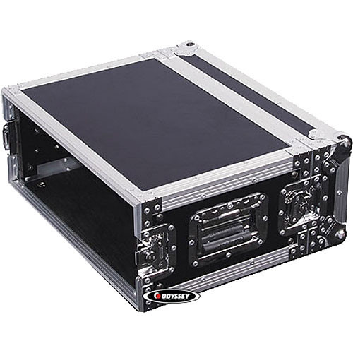 Odyssey Innovative Designs FZER4 Flight Zone Shallow Four Space Special Effects Rack Case