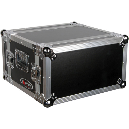 Odyssey Innovative Designs FZER6 Flight Zone Shallow Six Space Special Effects Rack Case