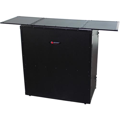 Odyssey Innovative Designs FZF5437TBL Fold-Out DJ Table Stand