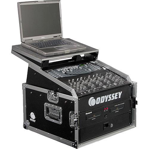 Odyssey Innovative Designs FZGS1004 Flight Zone Glide Style Slanted Rack Case