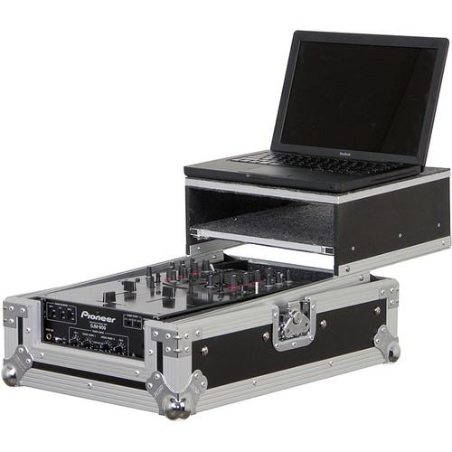 Odyssey Innovative Designs FZGS10CP Flight Zone Glide Style DJ Mixer Case