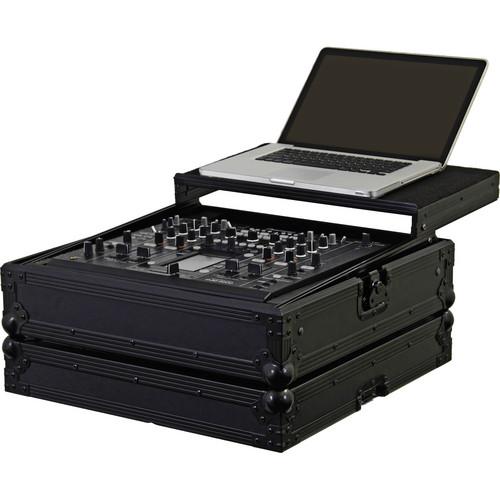 Odyssey Innovative Designs FZGSDJM2000BL Black Label Flight Zone Glide Style Pioneer DJM-2000 DJ Mixer Case (Black)