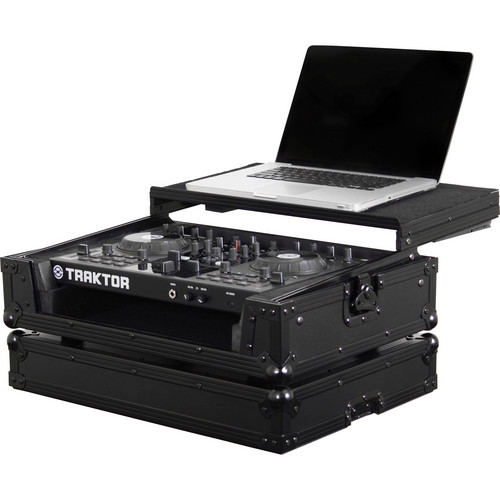 Odyssey Innovative Designs FZGSTKS2BLM Traktor Kontrol S2 Black Label Glide Style Case (Black)