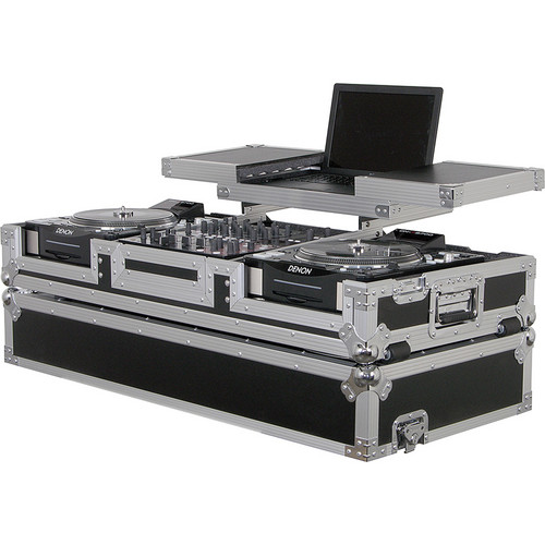 Odyssey Innovative Designs FZGSX12CDJW Flight Zone DJ Coffin Case