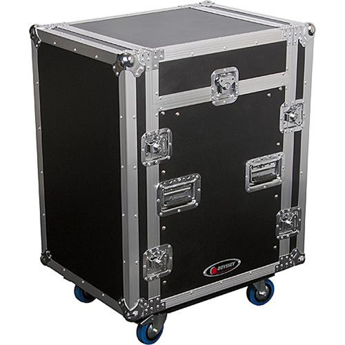 Odyssey Innovative Designs FZSRP1112W Flight Zone Space Saver Combo Rack Case