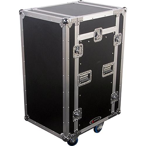 Odyssey Innovative Designs FZSRP1116W Flight Zone Space Saver Combo Rack Case