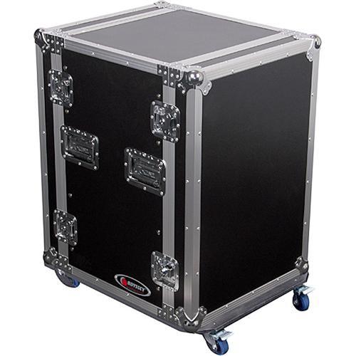 Odyssey Innovative Designs FZSRPAR12W Flight Zone Space Saver Amp Rack Case
