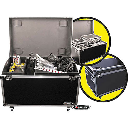 Odyssey Innovative Designs FZUT2W Flight Zone Truck Pack Touring Case (Black)