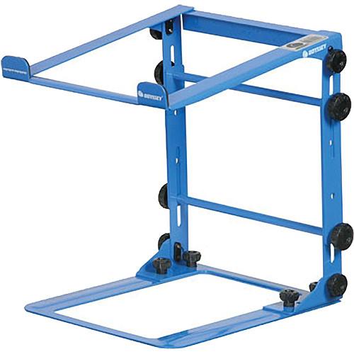 Odyssey Innovative Designs L-Stand Mobile DJ Folding Laptop Stand (Blue)