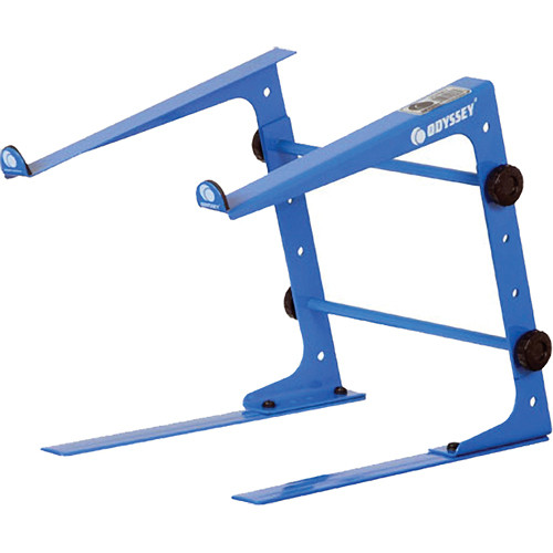 Odyssey Innovative Designs Stand-Alone Table-Top Laptop Stand (Blue)