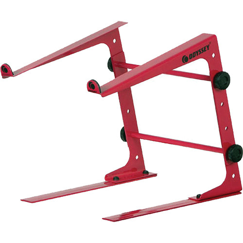 Odyssey Innovative Designs Stand-Alone Table-Top Laptop Stand (Red)
