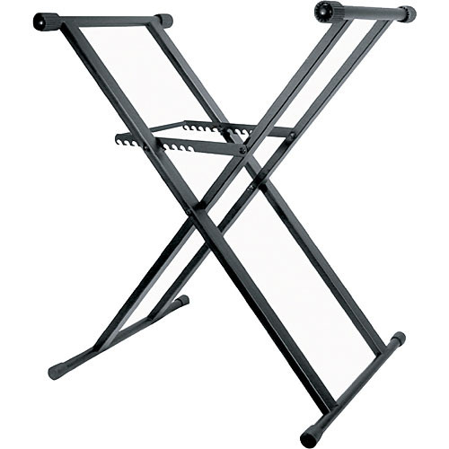 Odyssey Innovative Designs Heavy-Duty X Stand for DJ Coffins (Black)