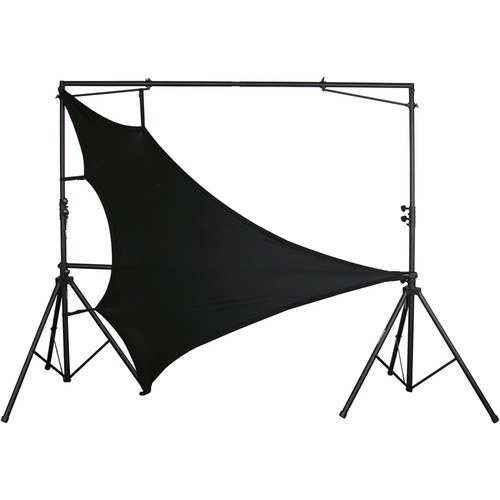 "Odyssey Innovative Designs SWT6088 Scrim Werks 60 x 80"" Triangular Scrim (Black)"