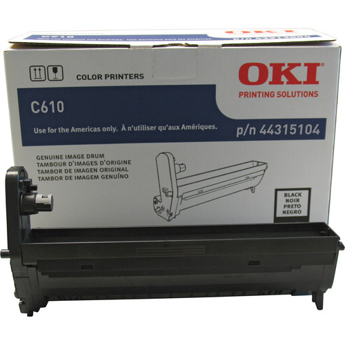 OKI C610 Series Black Image Drum