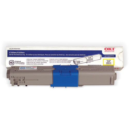 OKI C17 Yellow Toner Cartridge