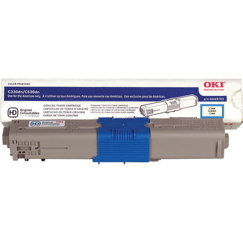 OKI C17 Cyan Toner Cartridge