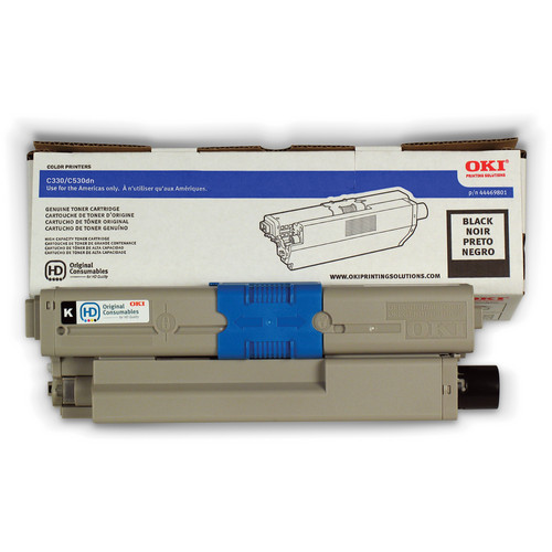 OKI C17 Black Toner Cartridge