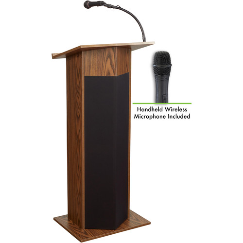 Oklahoma Sound Power Plus Lectern #111PLS (Medium Oak)