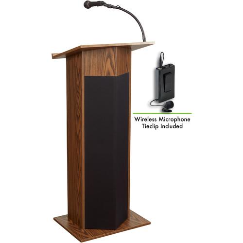 Oklahoma Sound Power Plus Lectern #111PLS (Medium Oak)