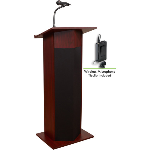 Oklahoma Sound Power Plus Lectern #111PLS (Mahogany)