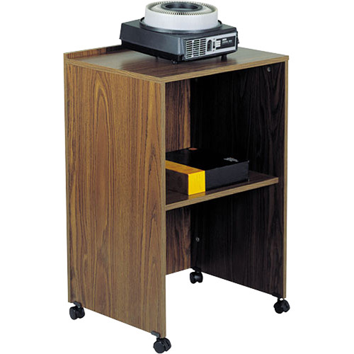 Oklahoma Sound Lectern Base (Medium Oak Laminate)