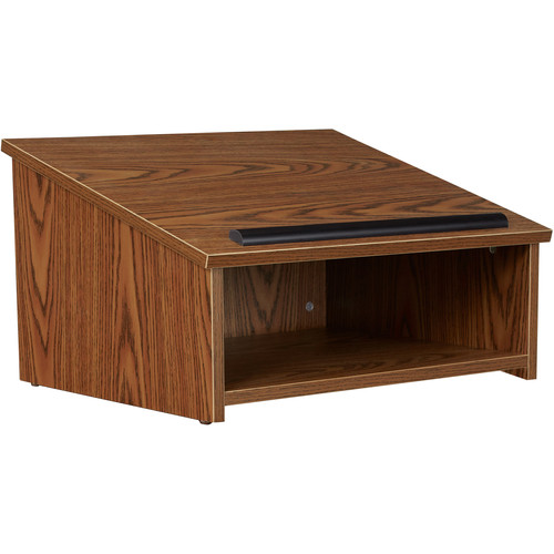 Oklahoma Sound 22 Tbl-Top Lectern (Med Oak/Laminate)