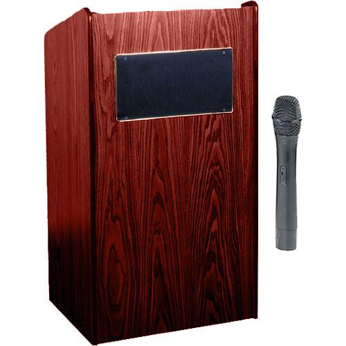 Oklahoma Sound Sound Lectern #6010 (Mahogany)