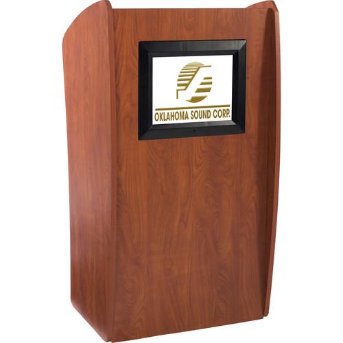 Oklahoma Sound 'The Vision' Floor Lectern (LCD Digital Display)