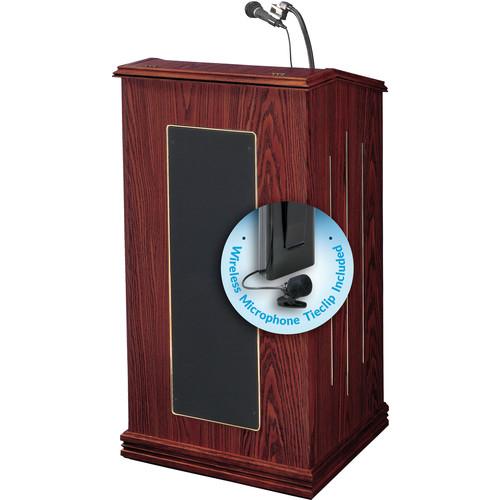 Oklahoma Sound Prestige Sound Lectern #711 (Mahogany) w/ LWM-6