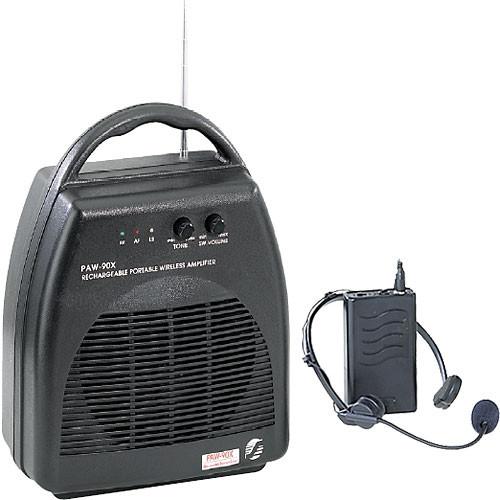 Oklahoma Sound PAW90X-PWM90-7   Portable PA System with PWM90-7 Wireless Headset Microphone