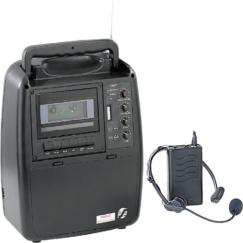 Oklahoma Sound PAW-95 Portable PA System with PWM95-7 Wireless Headset Mic