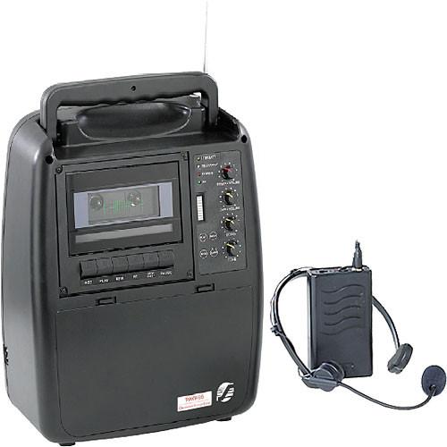 Oklahoma Sound PAW-95 Portable PA System with PWM95-7 Wireless Headset Mic
