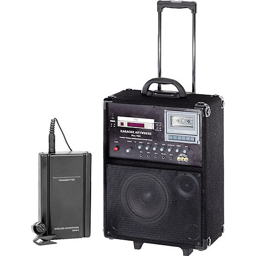 Oklahoma Sound PRA-7000-PRA-6 100W Portable PA System w/PRA-6 Lavalier Microphone