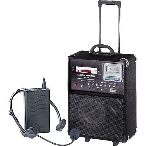 Oklahoma Sound PRA7000-PRA7 100W Portable PA System w/PRA-7 Headset Microphone