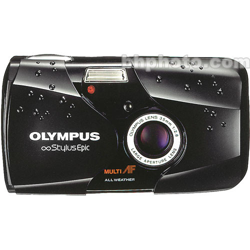 Olympus Stylus Epic Camera (Black)