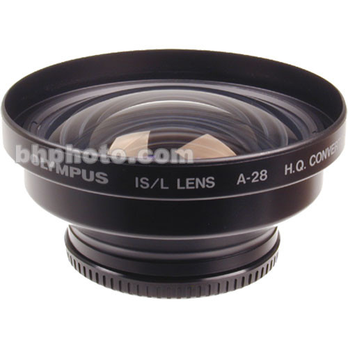 Olympus [Refurbished] A-28 0.8x Wide Angle Lens