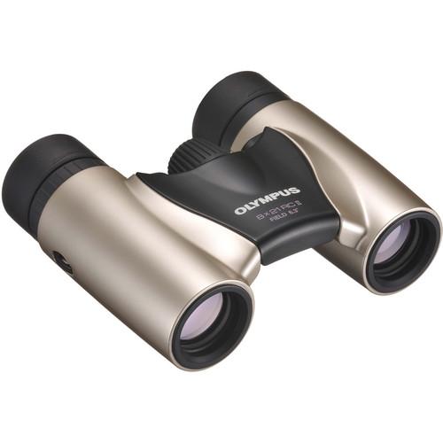 Olympus Roamer RC II 8x21 Roof Binocular (Gold)