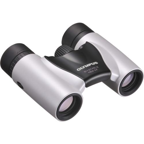 Olympus Roamer RC II 8x21 Roof Binocular (White)