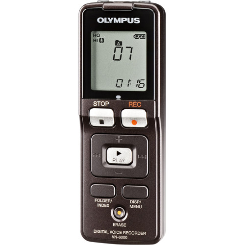 Olympus VN-6000 Digital Voice Recorder (1GB)