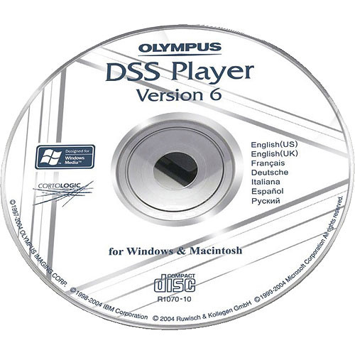 Olympus DSS Player Software for AS-2300