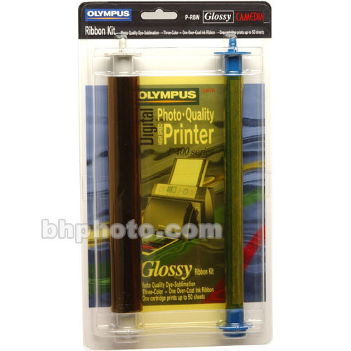 Olympus PRB-W Color Ribbon Kit (Glossy)