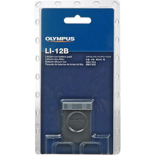 Olympus LI-12B Lithium-Ion Battery (3.7v 1230mAh)