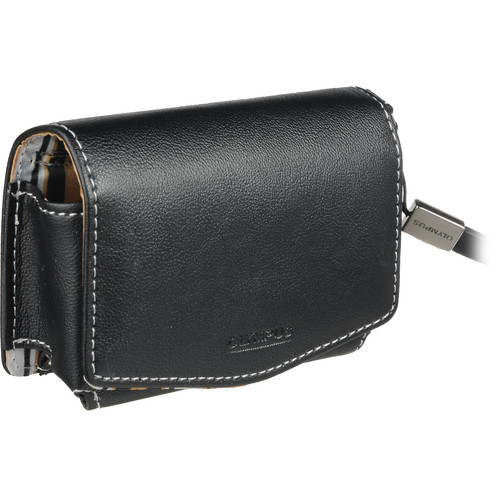 Olympus Casual Style Case (Black with Beige Interior)