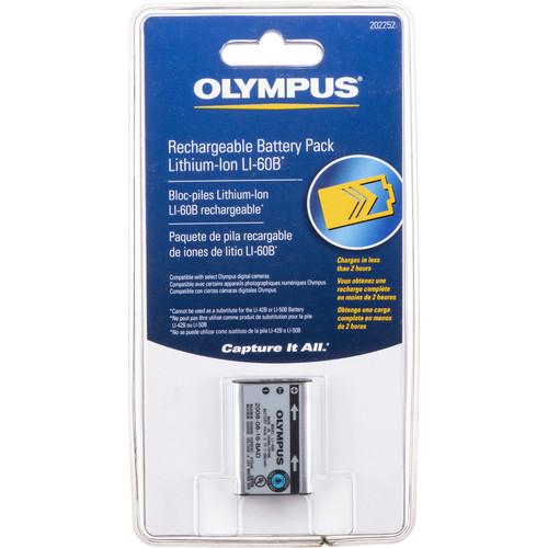 Olympus LI-60B Lithium-Ion Battery (3.7V, 680mAh)