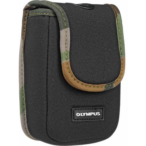 Olympus Neoprene Soft Case (Black with Camo Trim)