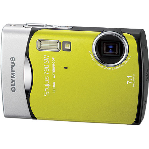 Olympus Stylus 790 SW Digital Camera (Green)