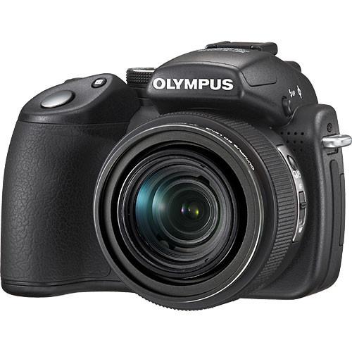 Olympus SP-570 UZ Digital Camera (Black)