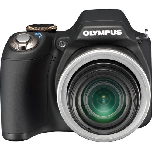 Olympus SP-590UZ Digital Camera (Black)